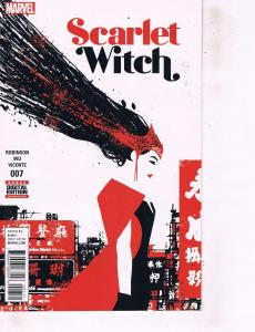 Lot Of 2 Comic Books Marvel Scarlet Witch #7 and Agent Carter #1  ON9