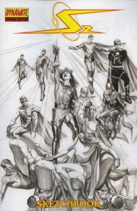 Project Superpowers: Chapter Two Sketchbook #1 VF; Dynamite | save on shipping -