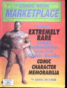 Comic Book Marketplace Fanzine #8- Rare Comic Memorabilia FN