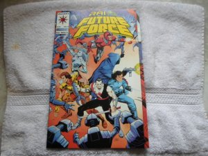 1993 VALIANT COMICS RAI AND THE FUTURE FORCE # 9