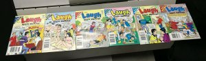 ARCHIE LAUGH DIGEST MAGAZINE LOT of 6 Early-Mid 2000's FINE! #8