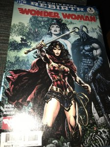 DC Rebirth Wonder Woman #1 Mint