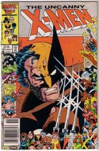 Uncanny X-Men   vol. 1   #211 GD/VG (Mutant Massacre)