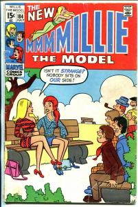 Millie The Model #184 1970-spicy girls cover- fashion page-VG