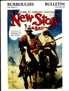 Burroughs Bulletin New Series #5 1991-ERB-Tarzan-N.C. Wyeth-J. Allen St. John-VF