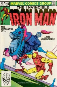 Iron Man (1st Series) #163 FN; Marvel | save on shipping - details inside