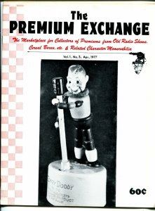 Premium Exchange #3 1977-Howdy Doody-Tom Mix-Space Patrol-Straight Arrow-FN