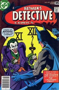 Detective Comics #475 (ungraded) stock photo / SCM