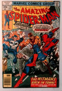Amazing Spider-Man #174 Marvel 1977 VG/FN Bronze Age Comic Book 1st Print