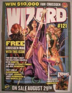 CROSSGEN / WIZARD Promo poster,  19x 25, 2001, Unused, more Promos in store