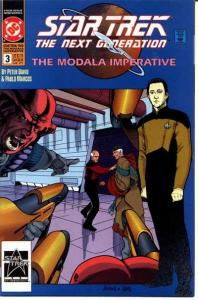 Star Trek: The Next Generation - The Modala Imperative #3, NM- (Stock photo)