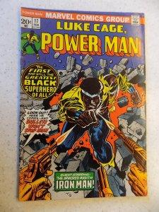 LUKE CAGE POWER MAN # 17 MARVEL BRONZE ACTION ADVENTURE VG/FN