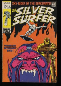 Silver Surfer #6 FN 6.0 Marvel Comics