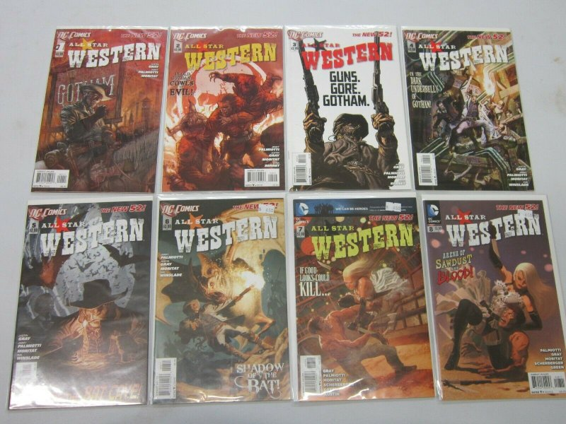 Western new 52 run:#1-9+11 8.0 VF (2011)