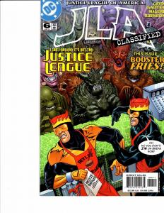 Lot Of 2 DC Comic Books Justice League of America #6 nd House of Mystery #35 ON3
