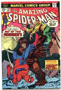 AMAZING SPIDER-MAN #139 1974-MARVEL COMICS-GRIZZLY fn/vf