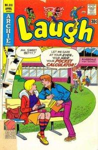 Laugh Comics #313, Fine (Stock photo)