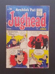 Archie's Pal Jughead #31 (1955) VG Archie Comics Golden Age