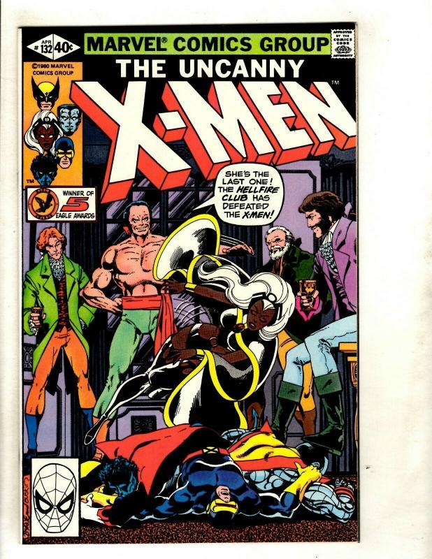 (Uncanny) X-Men # 132 NM Marvel Comic Book Cyclops Beast Iceman Wolverine GK4