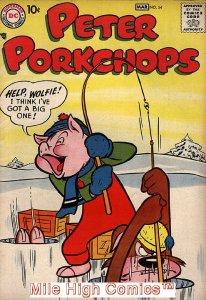 PETER PORKCHOPS (1949 Series) #54 Fair Comics Book