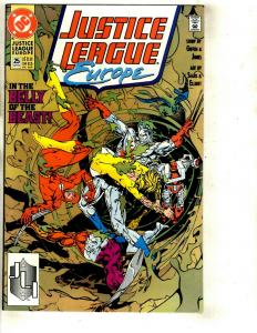 12 Justice League Europe DC Comics # 25 26 28 29 30 31 32 33 34 35 36 37 JF26