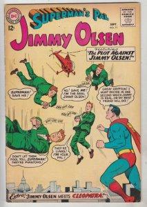 Superman's Pal Jimmy Olsen #71 (Sep-63) FN/VF+ High-Grade Jimmy Olsen