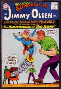 SUPERMAN'S PAL JIMMY OLSEN #90 1966-JIMMY AS HULK--DC VG