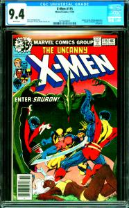 X-Men #115 CGC Graded 9.4 Sauron, Ka-Zar & Zabu Appearance