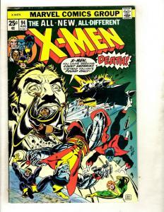 (Uncanny) X-Men # 94 FN/VF Marvel Comic Book New Team Wolverine Storm Beast GK1