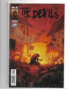 THE DEVILS #1 Antarctic Press 2019 Sold Out Low Print NM 02/13/19