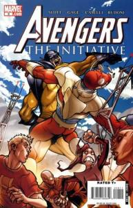 Avengers: The Initiative #8, NM (Stock photo)