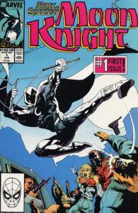 Marc Spector: Moon Knight #1 VF/NM; Marvel | save on shipping - details inside