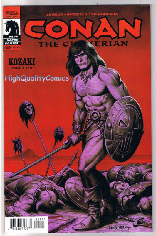 CONAN the CIMMERIAN 19, NM-, Joseph Linsner, Truman, 2008, more in store