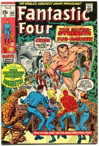 FANTASTIC FOUR #102, FN/VF, Sub-Mariner, Jack Kirby, 1961, more in store, QXT