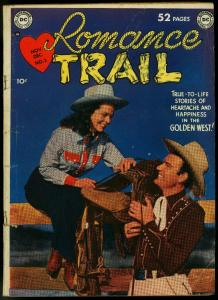 Romance Trail #3 1949- DC Western Photo cover Golden Age VG