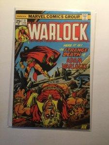 Warlock 11 Fine fn 6.0 Marvel