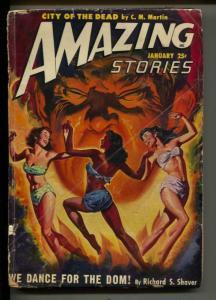 Amazing Stories-Pulp-1/1950-Richard S. Shaver-Berkeley Livingston