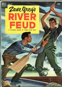River Feud -Four Color Comics #484 1953-Dell-Zane Grey-FN-