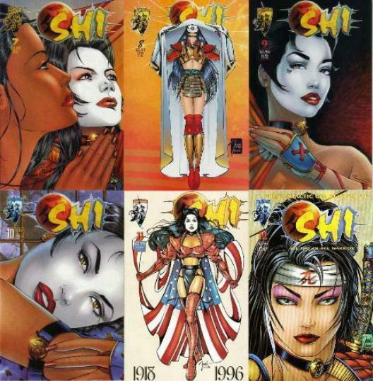 SHI (1994 CRUSADE) 7-12 'The Way Of The Warrior'  Tucci COMICS BOOK