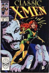Classic X-Men #31, Fine (Stock photo)