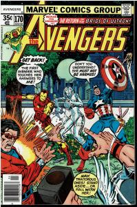 Avengers #170, 8.0 or Better - Minor GOTG Appearance