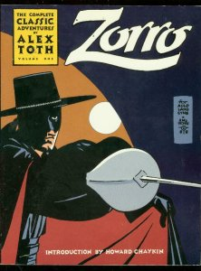 COMPLETE ZORRO VOL 1 TRADE PAPERBACK-ALEX TOTH COMIC AR VF