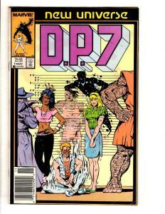 Lot Of 12 DP7 Marvel Comic Books # 1 2 3 3 4 4 5 6 7 8 9 10 New Universe J322