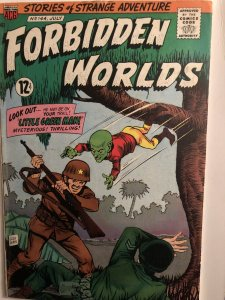 Forbidden Worlds,VG,#144, some Constanza art,Wahl cover!