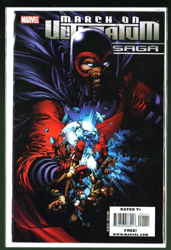 March On Ultimatum Saga #1 (2008)