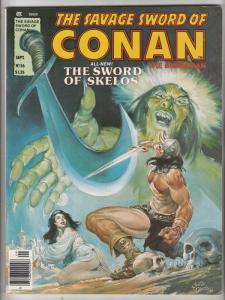Savage Sword of Conan #56 (Sep-80) NM- High-Grade Conan