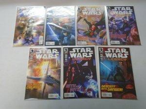 Star Wars Legacy Set #1-7 8.0 VF (2013)