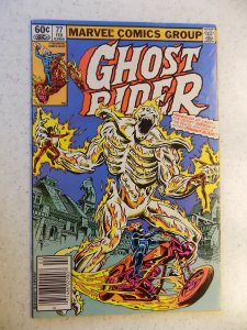 GHOST RIDER # 77 MARVEL BRONZE HORROR SUPERNATURAL VG/FN