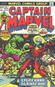 Captain Marvel (1st Series) #25 FN; Marvel | save on shipping - details inside
