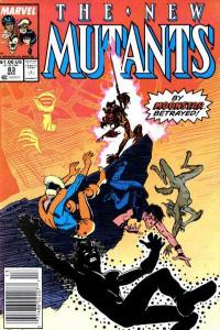 New Mutants (1983 series) #83, Fine+ (Stock photo)